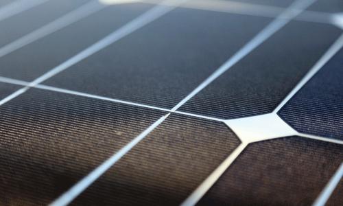 paneau solaire volet roulant